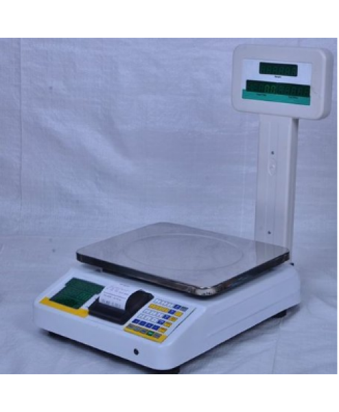 Chetak Billing Prc Scale 30 Kg With Printer