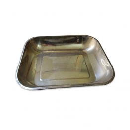 Steel tray for weighing machine