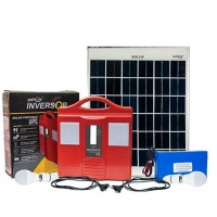 50 Watt Solar Lighting System for Outdoor Home